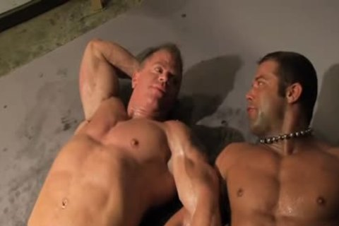 Rick Hammersmith Muscle Worshipped Then drilled By Darius Soli
