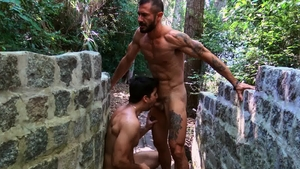 RealityDudes - Muscle Alex nailed by huge black cock dude
