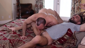 IconMale - Ricky Larkin and Mason Lear indoor