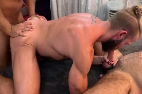 naughty 3some - Morgxn Thicke, Adam Russo & Jack Andy